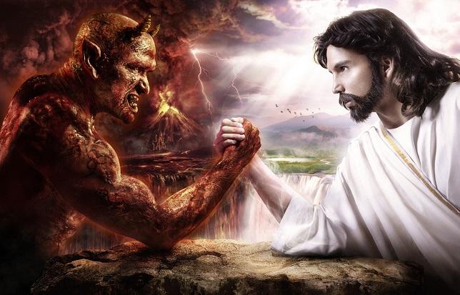 velnias ir dievas