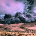 Santorino ugnikalnis bunda