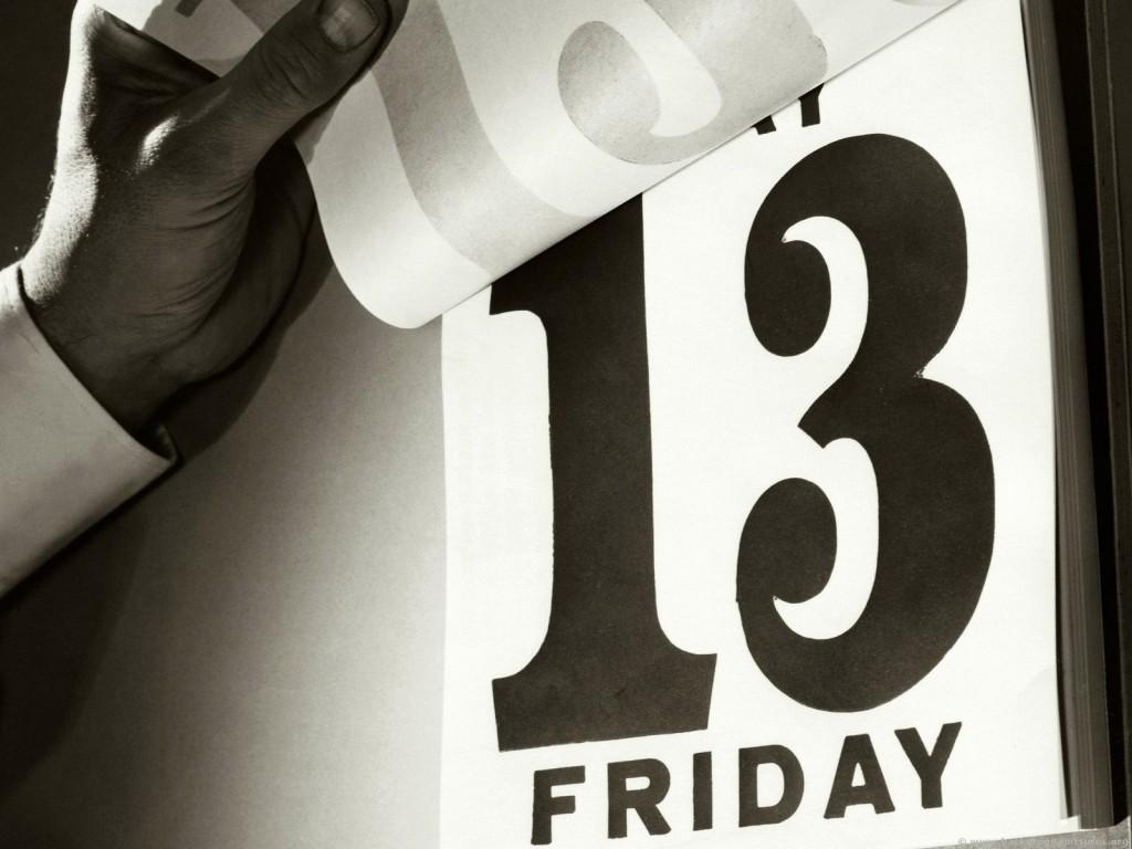Ar verta bijoti skaičiaus 13?