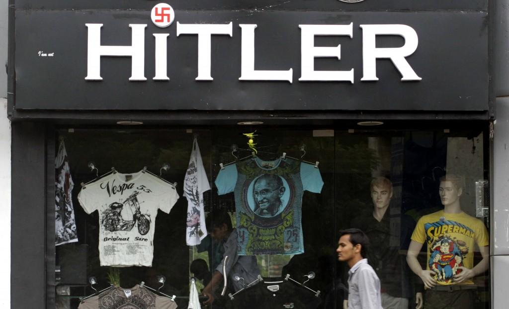 Indijoje garbinamas Hitleris
