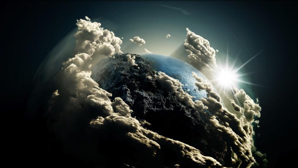 zeme kosmosas visata