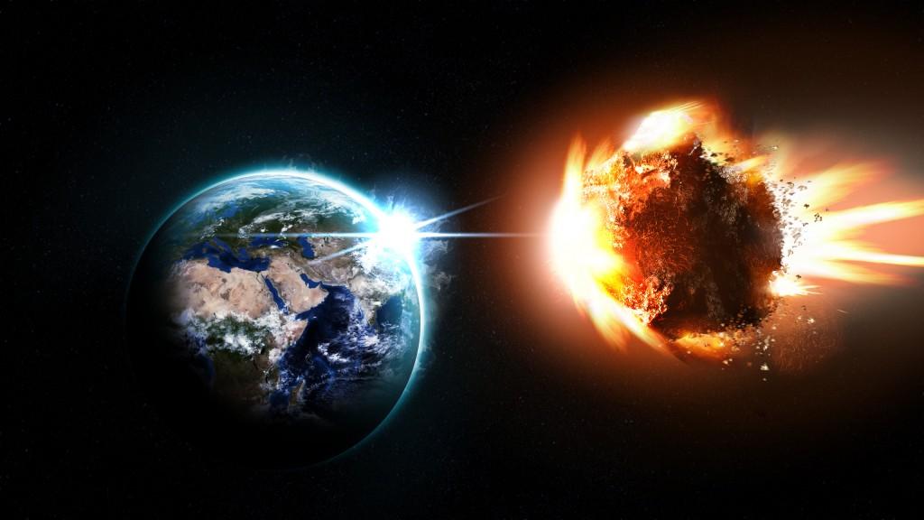 Ar susidūrimas su asteroidu neišvengiamas?