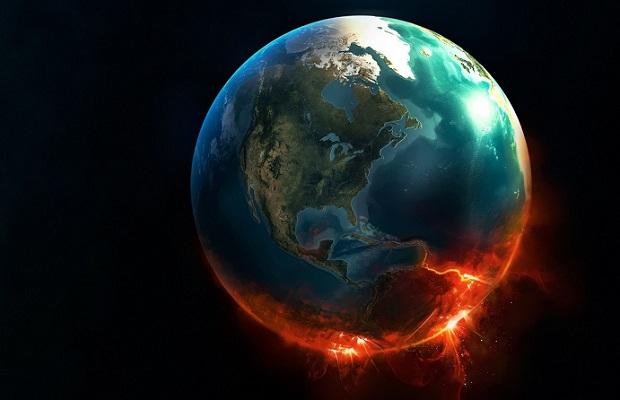 kosmosas zeme visata