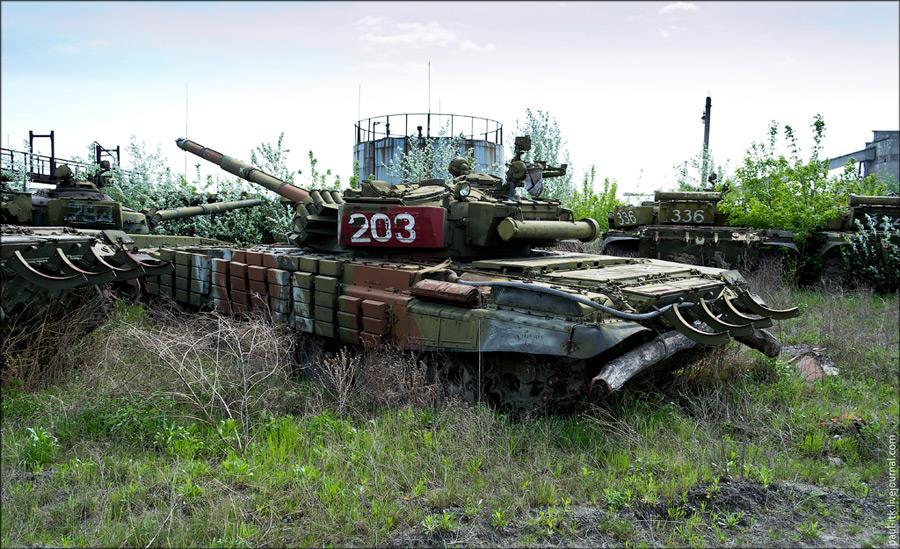 ukrainos tanku kapines 7