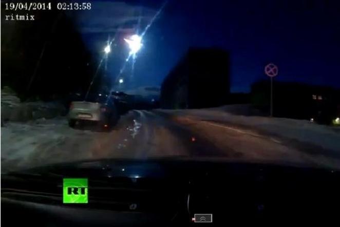 Rusijoje, Murmanske nukrito meteoritas, pastebėti sprogimai danguje