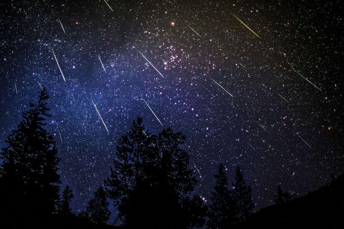 Šį mėnesį naktiniame danguje bus matoma ypatinga meteoritų liūtis