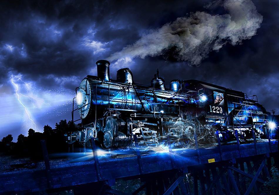 traukinys vaiduoklis