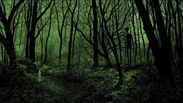 Keistas susitikimas miške