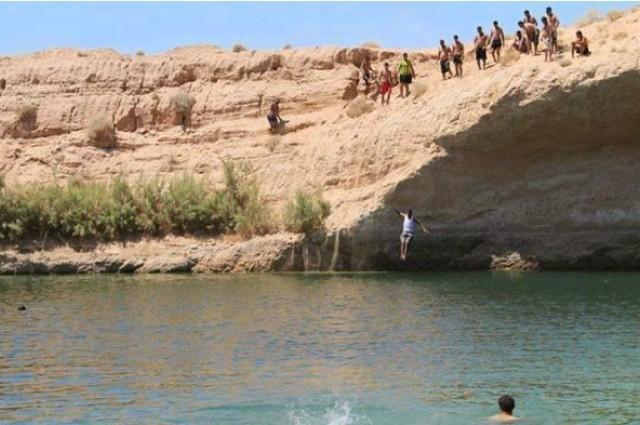 Viduryje Tuniso dykumos iš niekur atsirado ežeras