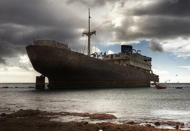 Laivai pasmerkti pražūčiai
