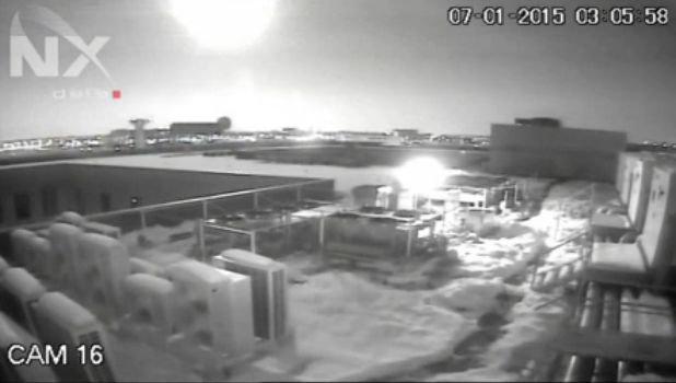 Rumunijoje sprogo meteoritas