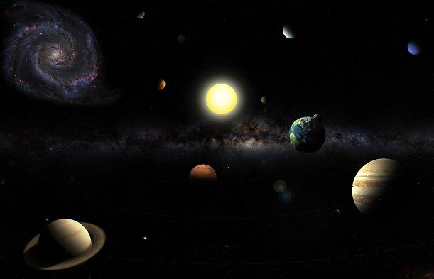 Kas suprojektavo Saulės sistemą?