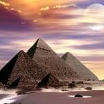 Paslaptingiausių laikų liudytojos – Egipto piramidės