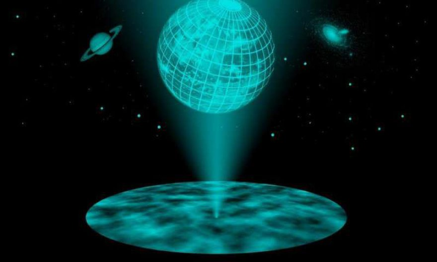 Ar visata vis dėl to yra tik 2 matmenų?