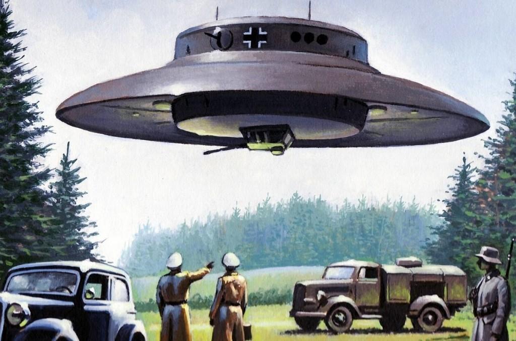 Trečiojo Reicho bandymai sukurti skraidančią lėkštę