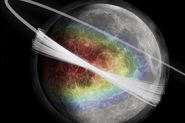 Aptiktas paslaptingas Mėnulio žiedas