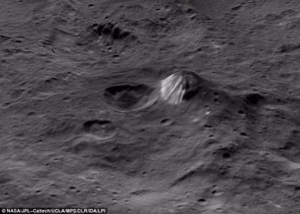 Cereros planetoje – paslaptingi kūgiai