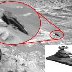 Ateivių medžiotojai Marse pastebėjo nukritusį žvaigždėlaivį
