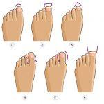Ką apie jūsų charakterio savybes sako kojų pirštų forma?